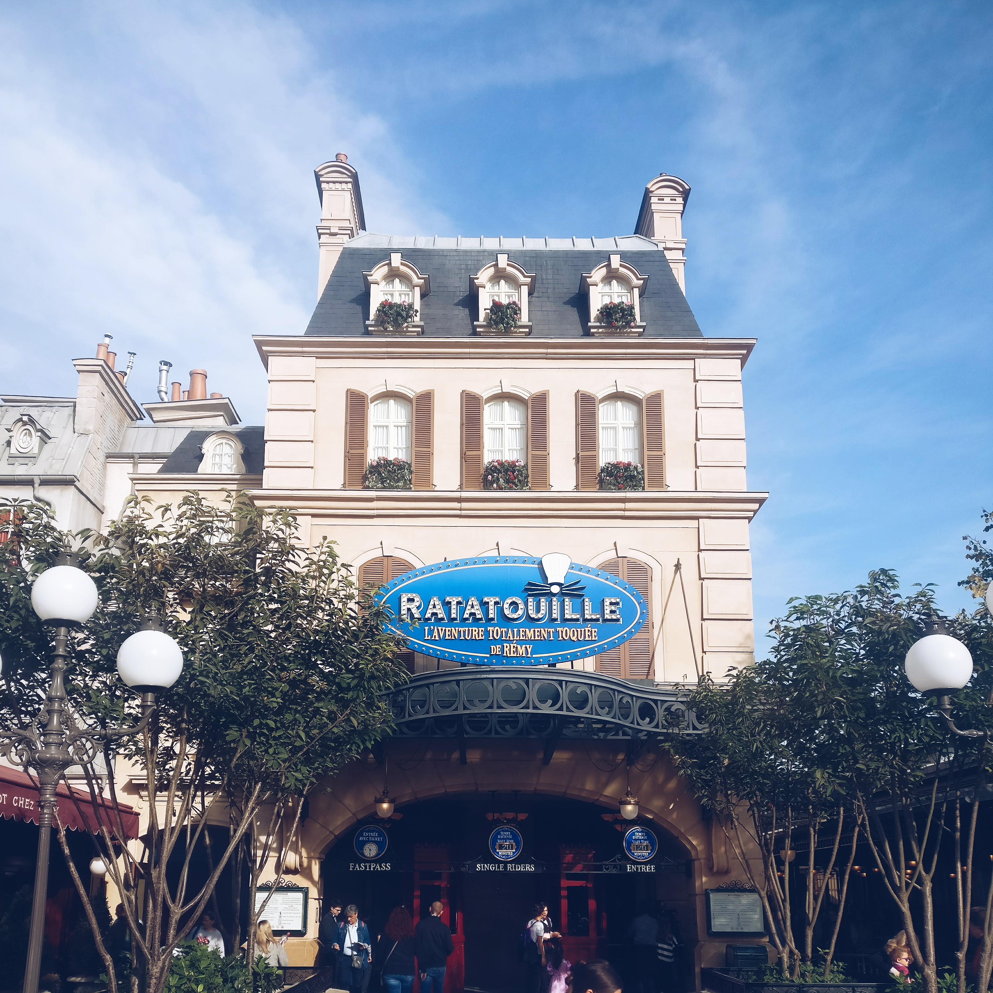 Ratatouille Disneyland